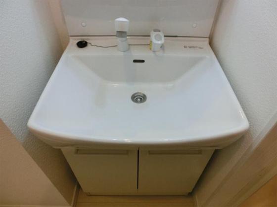 独立洗面台ドレッサーのアップ