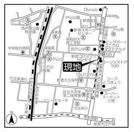地図周辺ご案内図
