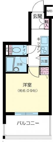 間取りアヴァンツァーレ新宿ピアチェーレ