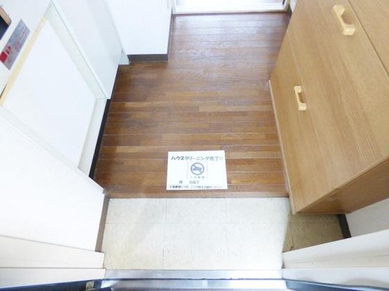 玄関段差の小さい玄関口