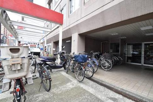 共有部分駐輪スペース