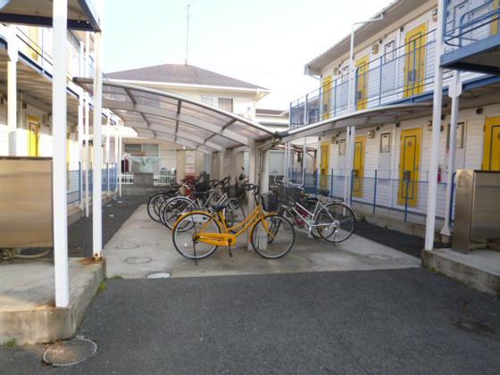 共有部分自転車置き場