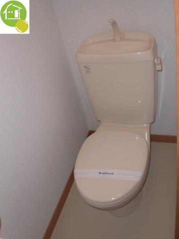 トイレ写真はイメージです。