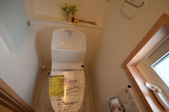 トイレ(第2期25号棟)同仕様トイレ(ウォシュレット一体形便器)