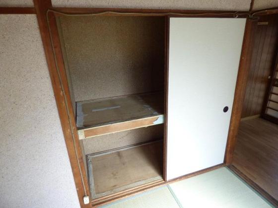 収納大容量収納でお部屋もスッキリ。