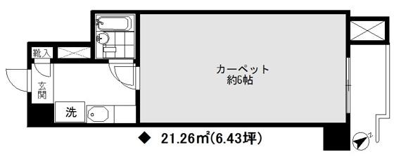 外観麻布十番駅徒歩5分【麻布狸穴ナショナルコート】