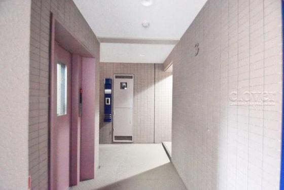 共有部分居住階の廊下