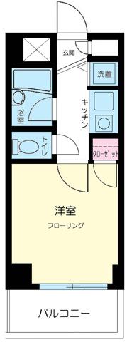間取りプレール西新宿