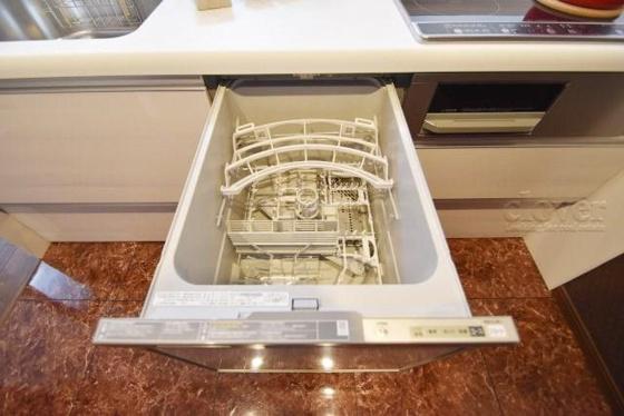 キッチン食器洗浄機付
