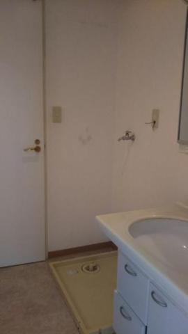 独立洗面台メゾン青山 洗面・洗濯機置場