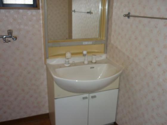 独立洗面台1階