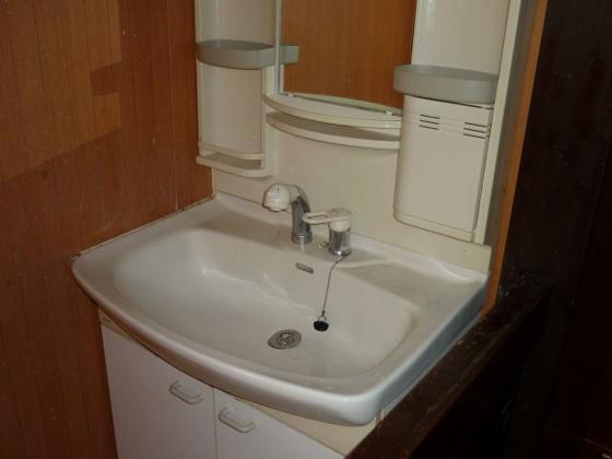 独立洗面台2階