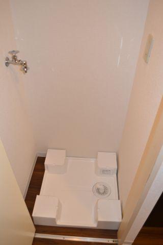 設備室内濯機置場 防水パン交換
