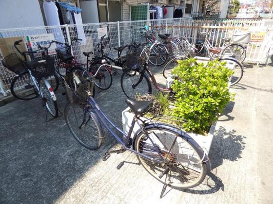 その他敷地内にある駐輪スペース