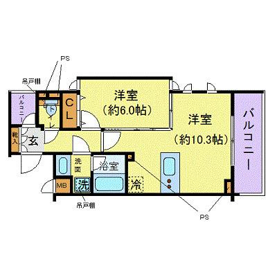 間取りZOOM北新宿