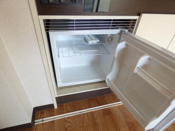 その他うれしいミニ冷蔵庫もあります。