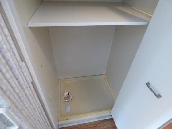 その他洗濯機は室内に設置できます。