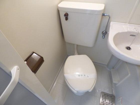 トイレシンプルでお手入れも楽です。