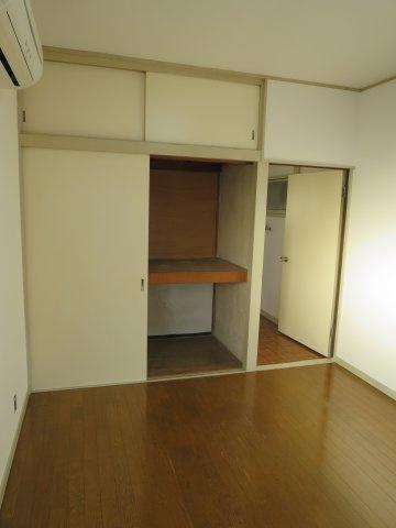 収納たっぷりとした収納スペースです