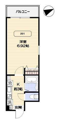 間取りアルヴィータ北新宿