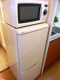 設備冷蔵庫&電子レンジ