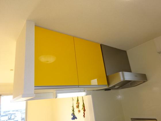 キッチンキッチン上棚