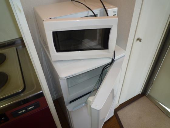 設備冷蔵庫・レンジ