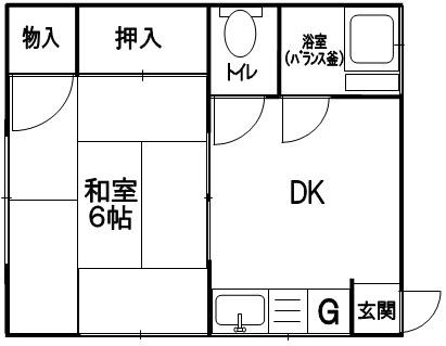間取り神浦アパート