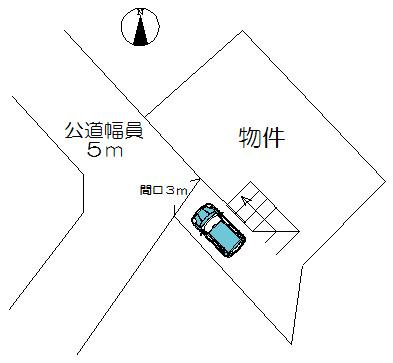 区画図地形図