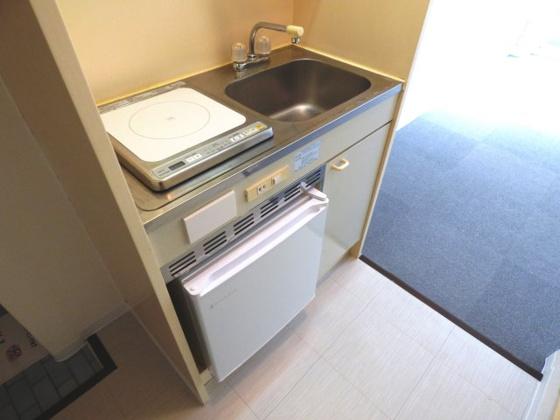 キッチン機能的なミニキッチン