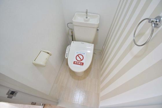 トイレスッキリ清潔なトイレです。