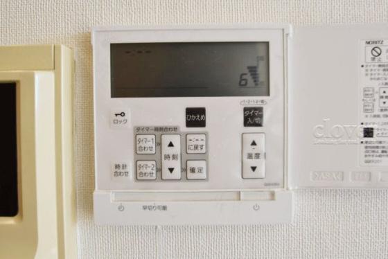 内装床暖房コントロールパネル