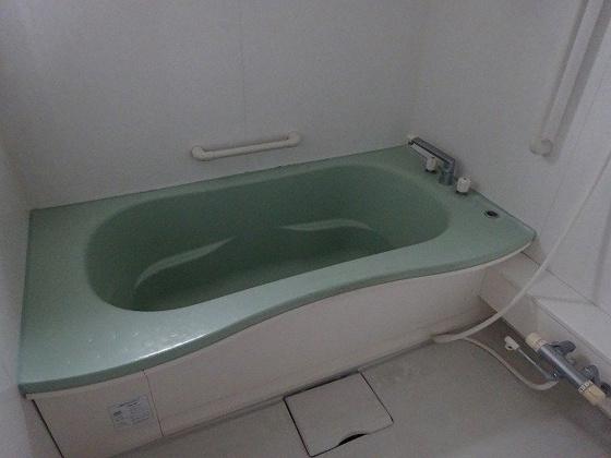 浴室ゆっくり浸かれる1坪風呂