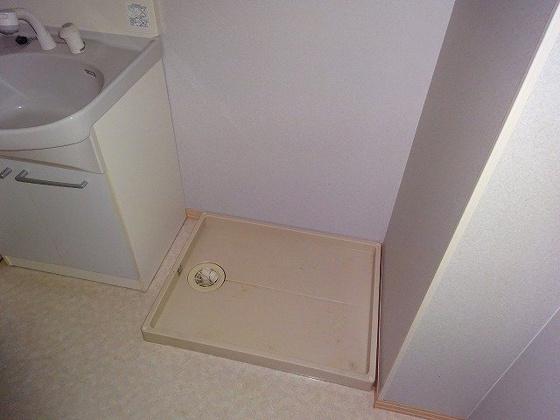 洗面所洗濯機置き場