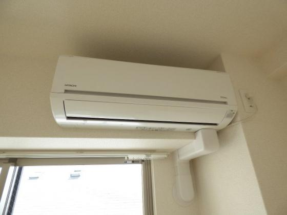 設備年中快適なエアコン完備