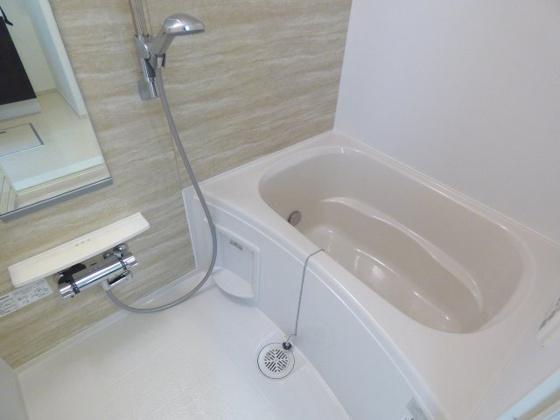 浴室バスタイムはリラックスタイム