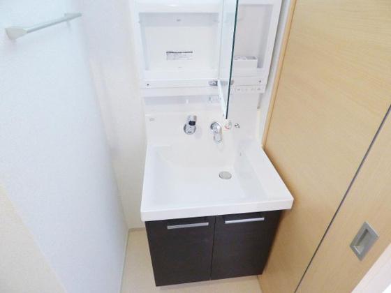 洗面所シャンドレ完備は嬉しいですね