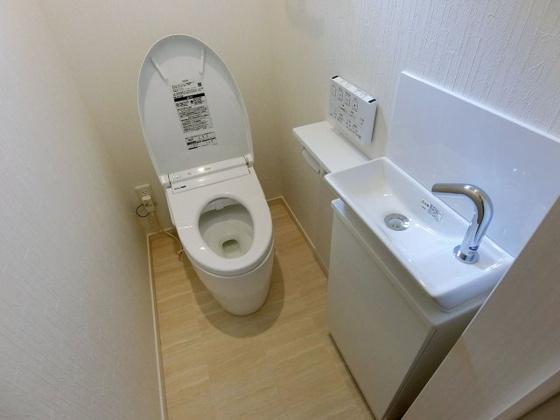 トイレ温水洗浄機能付きトイレ