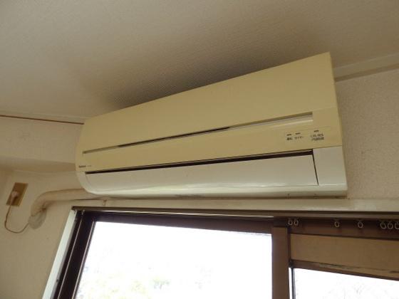設備エアコンがあると助かりますね。