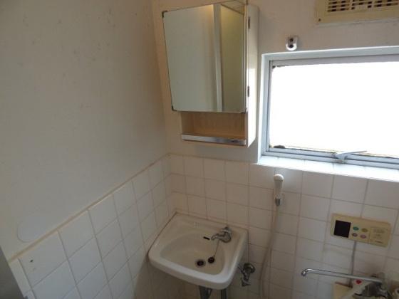洗面所コンパクトな洗面台