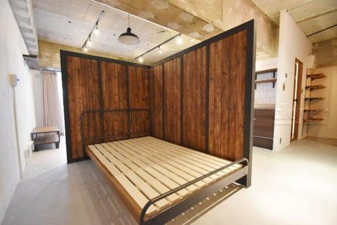 洋室ベッドスペース