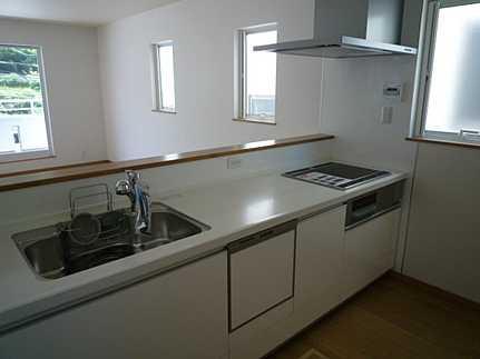 キッチン機能性収納性に溢れるキッチン。毎日楽しくお料理が出来そうです。