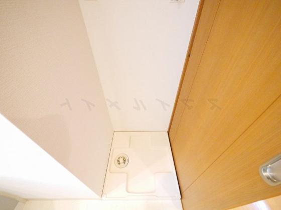 設備室内洗濯機置き場・ドラム式も置けます。