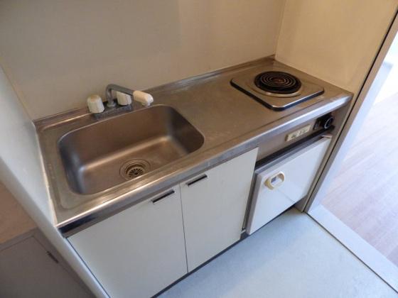キッチン調理スペースもありますよ。