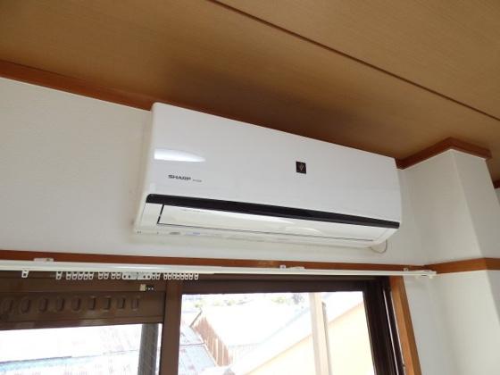 設備年中快適なエアコン完備。
