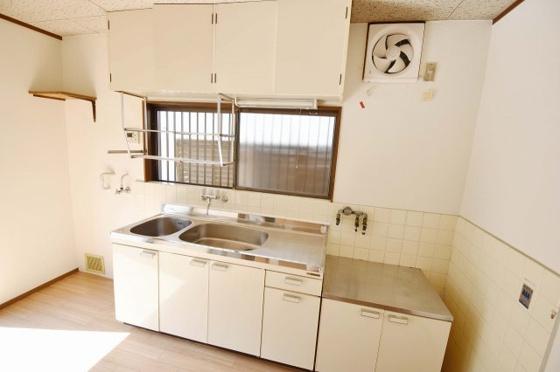 キッチンお料理がはかどる広いキッチン。