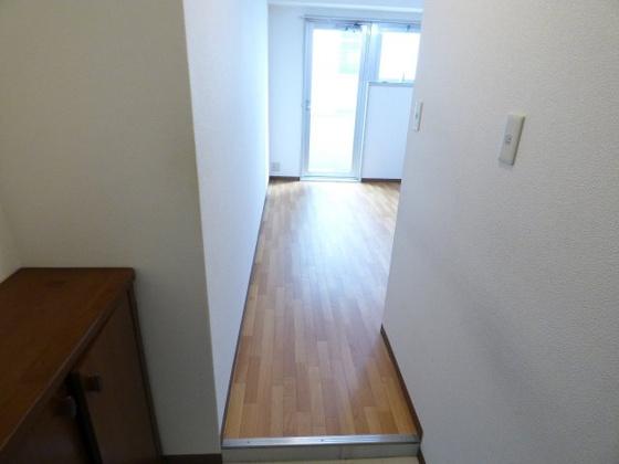 玄関快適な空間が広がっています。
