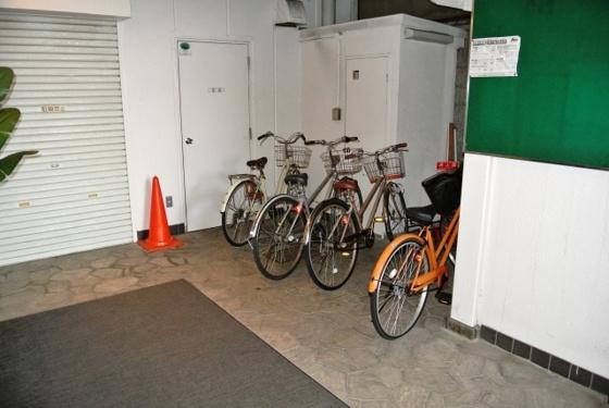 その他駐輪スペースもありますよ。