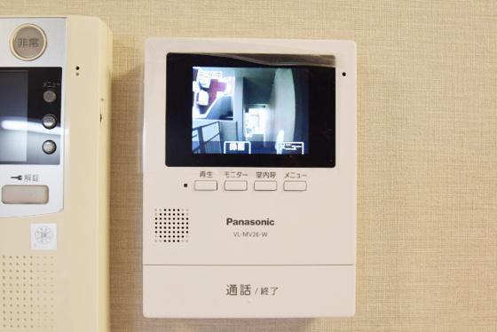 内装モニター付きインターフォン