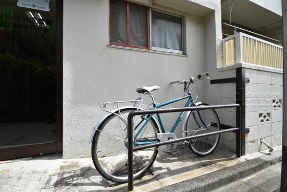 共有部分自転車置場
